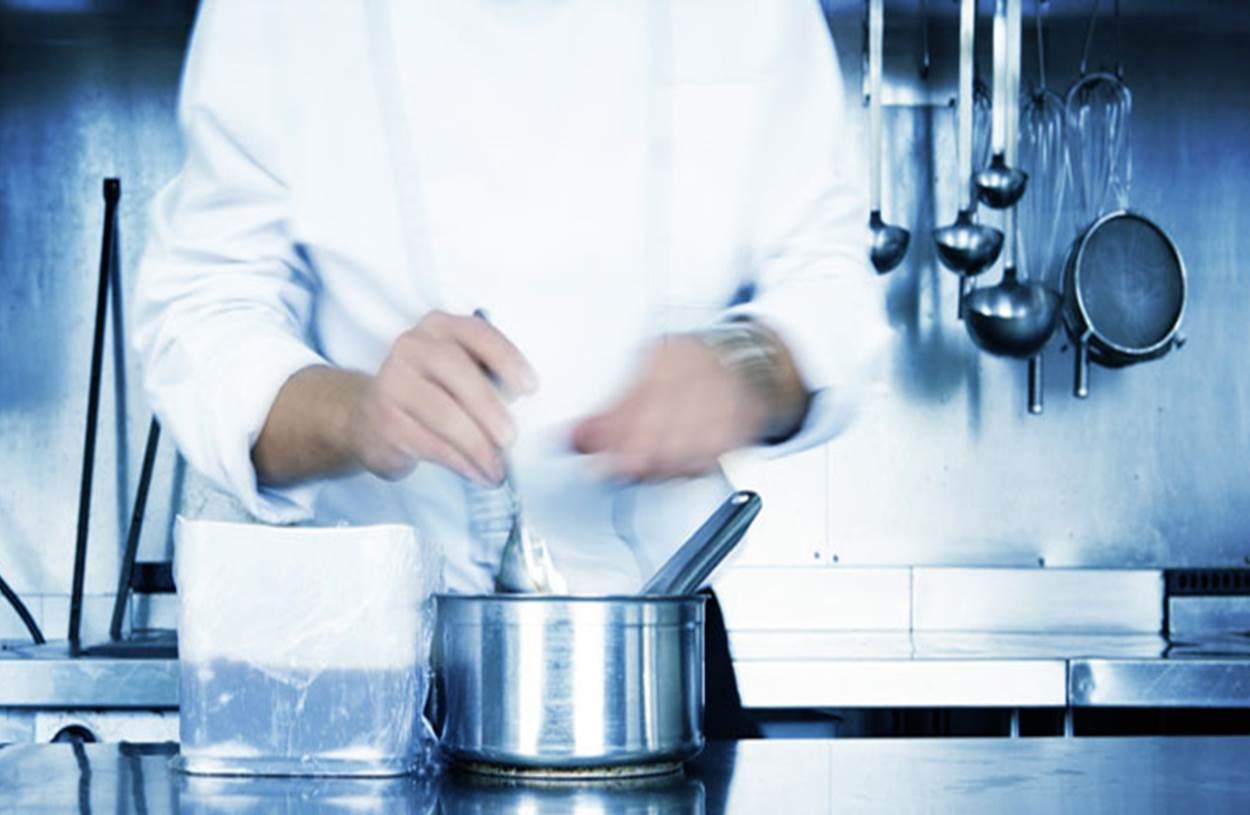 Aan het koken!